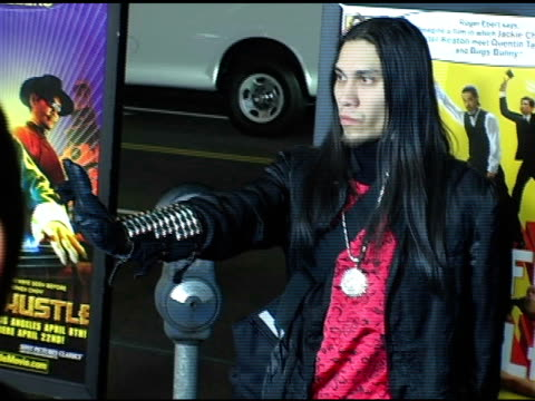 taboo of the black eye peas at the 'kung fu hustle' los angeles premiere at arclight cinemas in hollywood california on march 29 2005 - arclight cinemas hollywood stock videos and b-roll footage