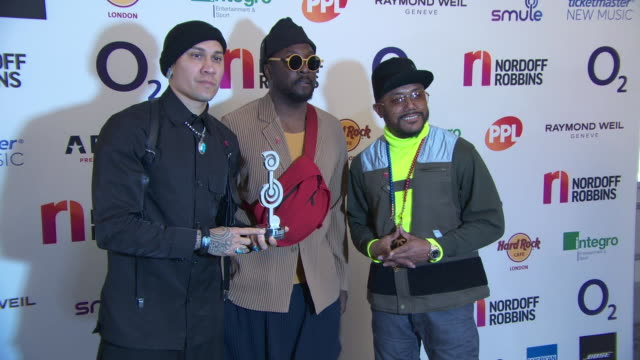 stockvideo's en b-roll-footage met taboo william and apldeap at nordoff robins 02 silver clef awards on july 5 2019 in london england - apl.de.ap