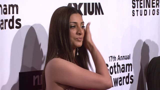 tabu at the 17th annual gotham awards presented by ifp at steiner studios in brooklyn, new york on november 27, 2007. - independent feature project stock videos & royalty-free footage