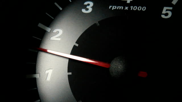 tachometer rpm - speedometer stock videos & royalty-free footage