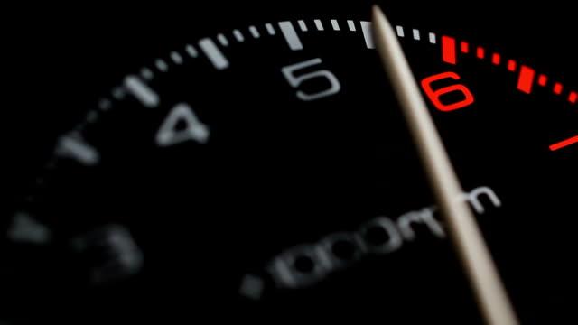 tachometer - plusphoto stock videos & royalty-free footage