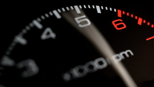 tachometer - gauge stock videos & royalty-free footage