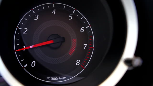 tachometer - brake stock videos & royalty-free footage