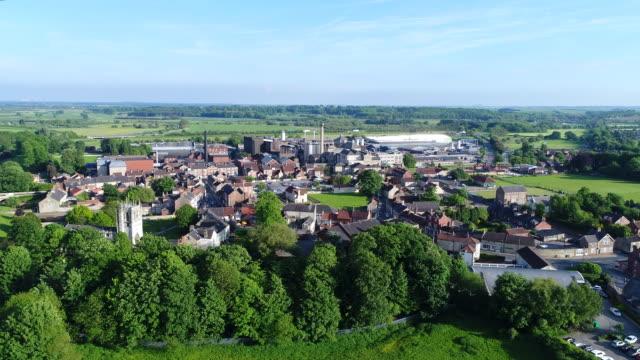 Tadcaster Rising Shot 4K Aerial Video