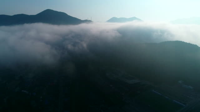 taebaek mountain scenery, gangwon province, south korea - 先史時代点の映像素材/bロール