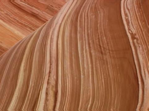 taffy-like sandstone layers - rock strata stock videos & royalty-free footage
