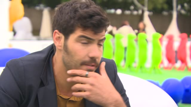 tahar rahim on what attracted him to the role, how he got involved, his character at 'the cut' interview - 71st venice international film festival on... - 第71回ベネチア国際映画祭点の映像素材/bロール
