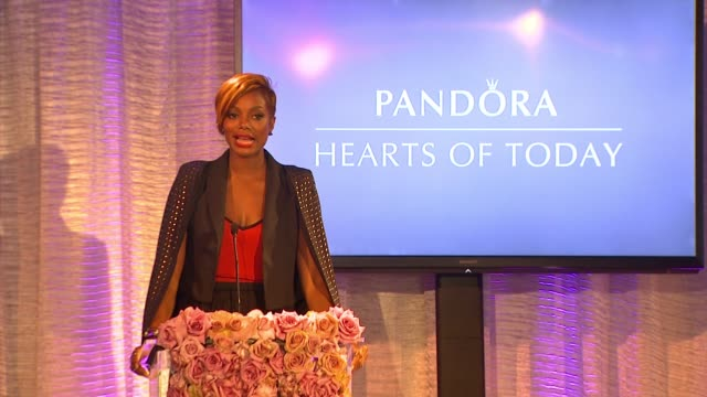 speech tai beauchamp at pandora hearts of today honoree luncheon at montage beverly hills on november 15 2014 in beverly hills california - montage beverly hills stock videos & royalty-free footage