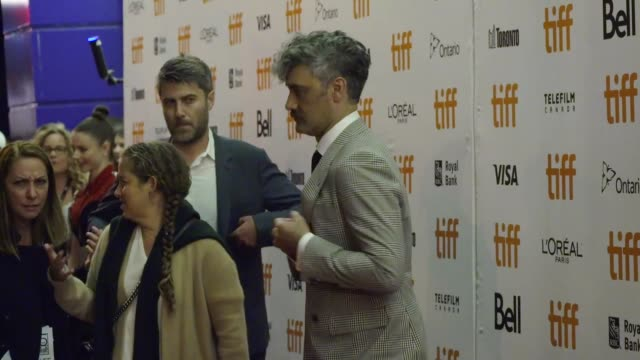 taika waititi at princess of wales theatre on september 08, 2019 in toronto, canada. - film festival stock videos & royalty-free footage