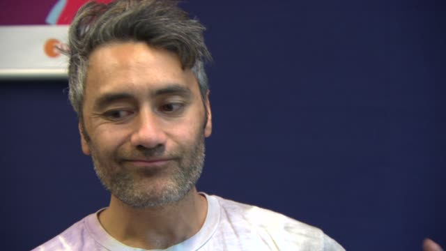 INTERVIEW Taika Waititi on the audience reactions to the screening at 'What We Do in the Shadows' Interview at Berlinale Palast on February 13 2014...