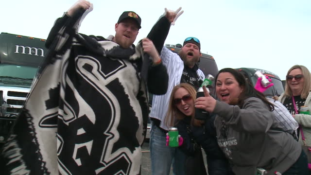WGN Tailgating at Chicago White Sox Home Opener at Guaranteed Rate Field on April 5 2018