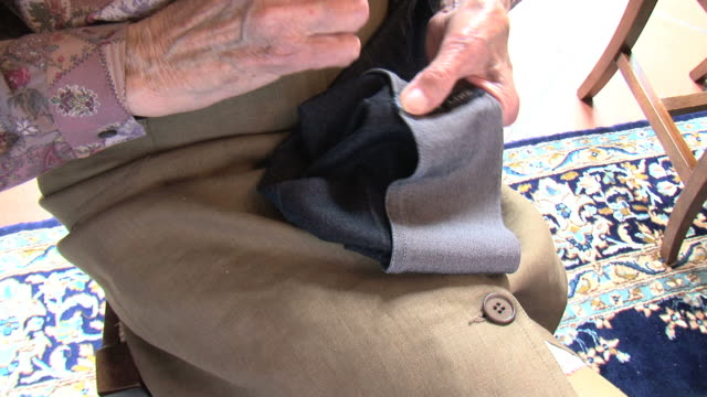 tailor woman - trousers stock videos & royalty-free footage