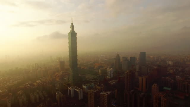 taipei by drone - taiwan stock videos and b-roll footage