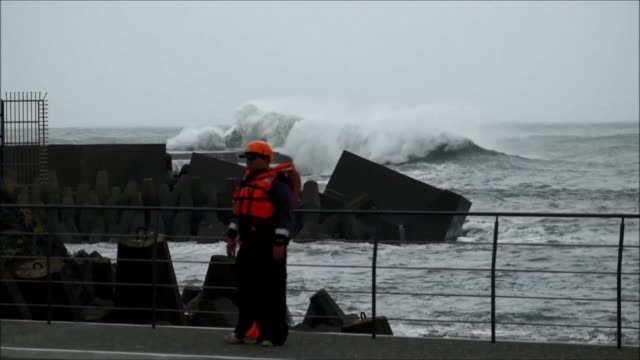 Taiwan issues land alert as Typhoon Malakas is approaching which is the second one to affect the island within a week