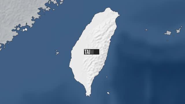 taiwan map zoom - taiwan stock videos & royalty-free footage