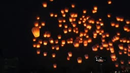 Taiwan Sky Lantern Festival 2015