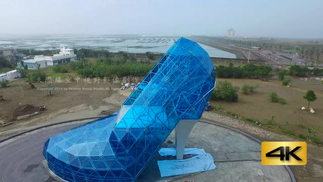 taiwanese religious group has built a new chapel in the shape of a high heel with the aim of attracting potential tourists. it is hoped the... - taiwan stock videos & royalty-free footage