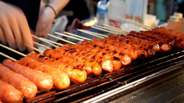 Taiwanese sausage grill