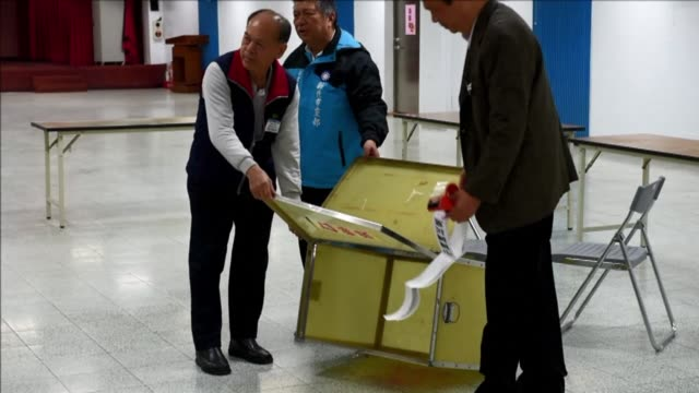 vídeos de stock e filmes b-roll de taiwan's beijing friendly ruling party is set to appoint a new leader in the hope of reversing its fortunes after its worst ever local election... - persuasão