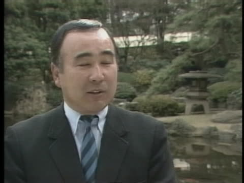 taizo kawada of the japan golf association comments on a new golf course in japan. - sport点の映像素材/bロール