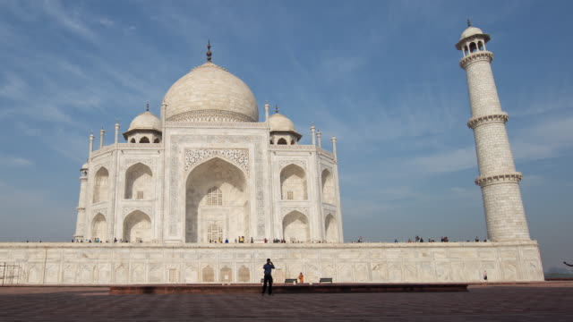 taj mahal - palace stock videos & royalty-free footage