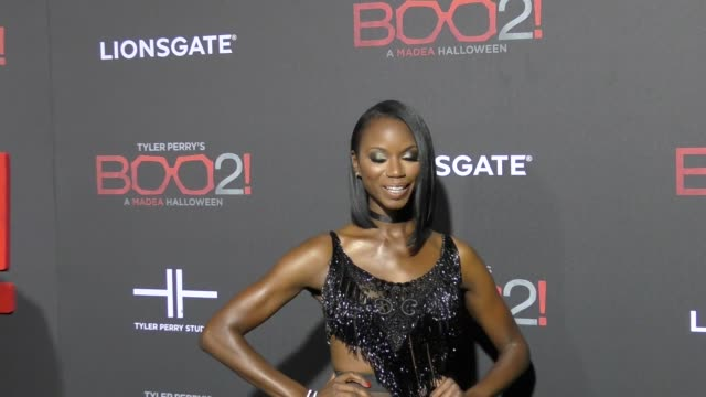 Taja V Simpson at Lionsgate Presents The Los Angeles Premiere of Tyler Perry's 'Boo 2 A Madea Halloween' at LA LIVE on October 16 2017 in Los Angeles...