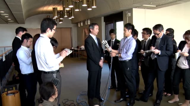 Takaaki Kajita director of the Tokyo University Institute for Cosmic Ray Research was awarded the Nobel Prize in physics and gave an interview the...