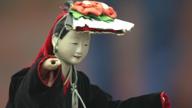 takayama spring festival - マリオネット点の映像素材/bロール