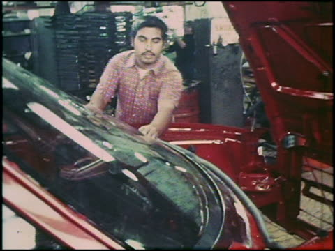 Take a rare look at assembly line footage of the 1975 American Motors Pacer In this montage the second of 4 you'll see factory workers installing the...