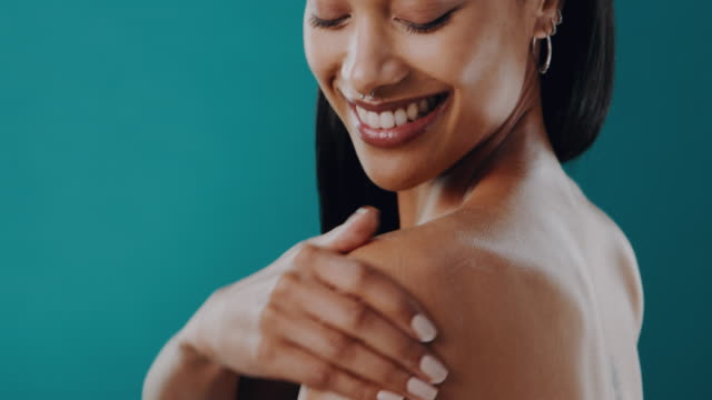 take care of your skin and you'll never be disappointed - softness stock videos & royalty-free footage