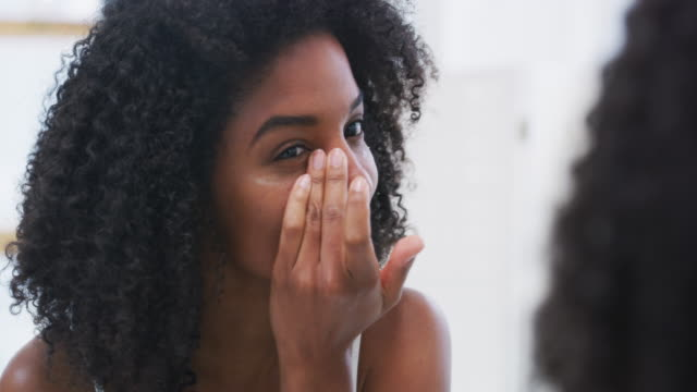 take care of yourself and you won't look a day over 20 - skin care stock videos & royalty-free footage