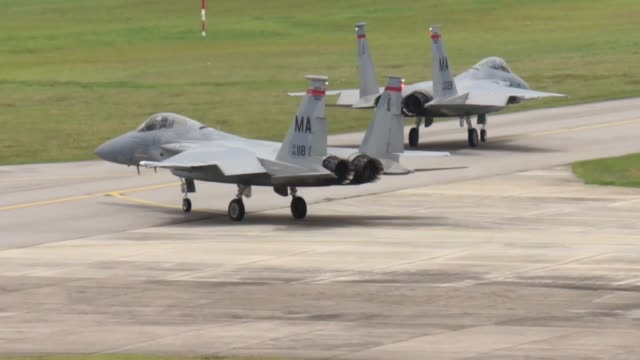 Take offs and landings during Cope Taufan Cope Taufan is a biennial Large Force Employment exercise between the Royal Malaysian Air Force and Pacific...