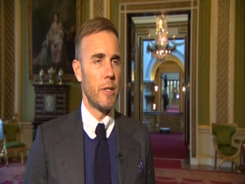 take that's gary barlow says he wants to represent the whole world at the queen's diamond jubilee concert in june 2012 - 表す点の映像素材/bロール