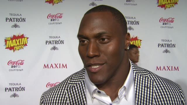 takeo spikes on what brings him out the the maxim super bowl party what super power he would most like to have who he thinks is the sexiest super... - paul mitchell stock videos and b-roll footage