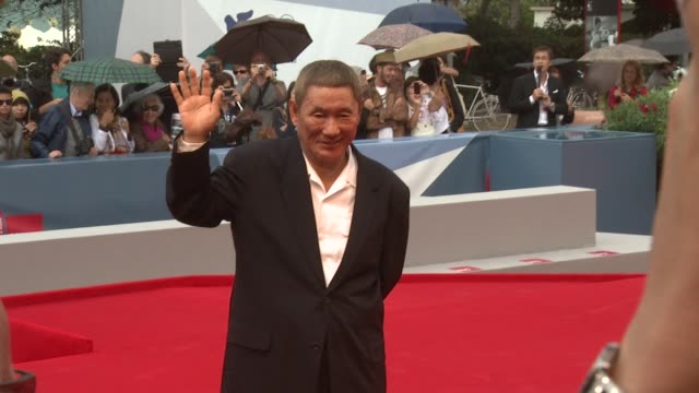 Takeshi Kitano at Outrage Beyond Premiere 69th Venice Film Festival at Sala Grande on September 02 2012 in Venice Italy