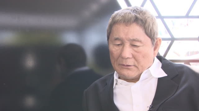 INTERVIEW Takeshi Kitano on how action movies can be like a circus and over the top and how he tries to direct violence realistically at 'Outrage...