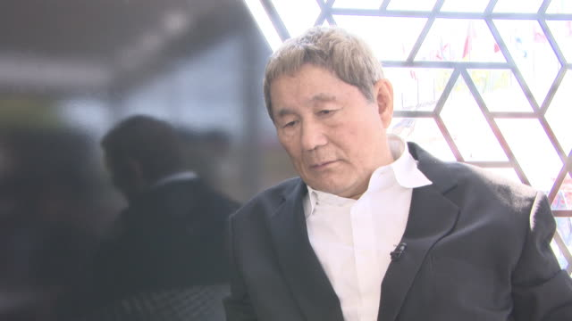 INTERVIEW Takeshi Kitano on showing at Venice film festival again at 'Outrage Coda' Interviews 74th Venice International Film Festival at Palazzo del...