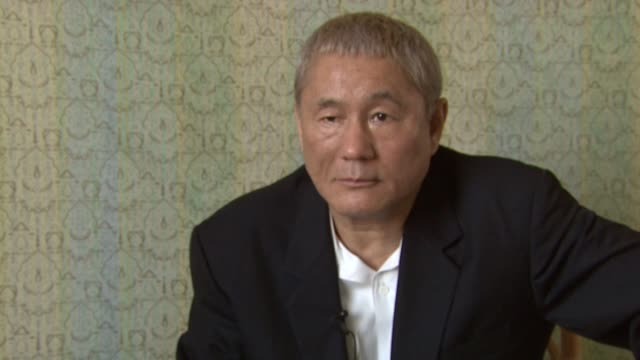 Takeshi Kitano on why Benice is such a good spot to showcase his films at the 65th Venice Film Festival Takeshi Kitano Arrival at Venice