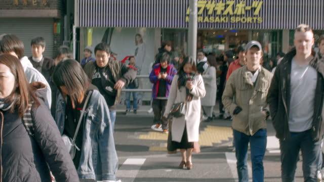 takeshita street - harajuku - only japanese stock videos & royalty-free footage