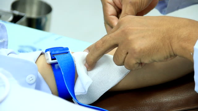 taking a blood sample. - blood test stock videos and b-roll footage