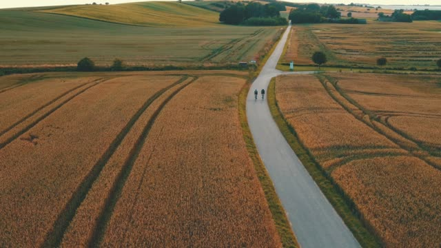 taking a ride on the back roads - drone stock videos & royalty-free footage