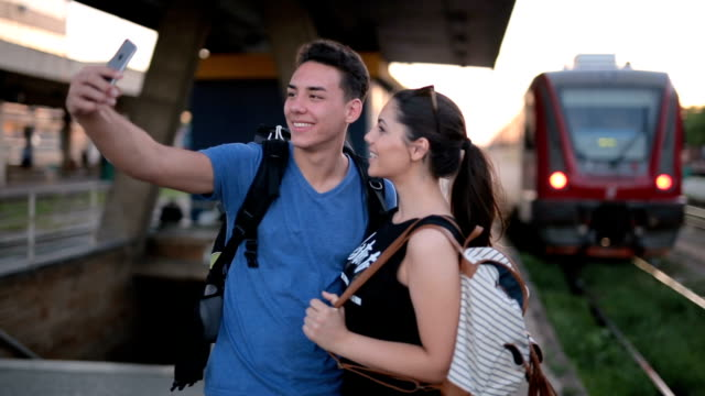 taking a selfie together - long distance relationship stock videos & royalty-free footage