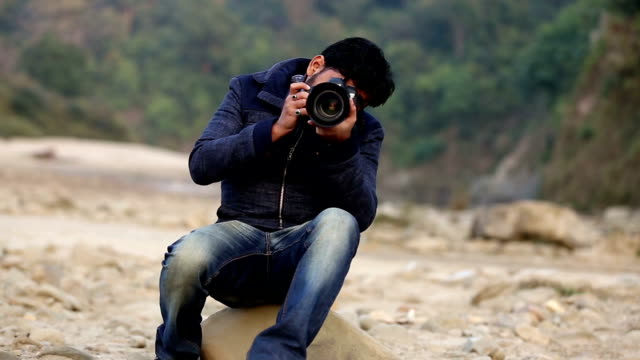 taking a shot using dslr camera - shutter stock videos and b-roll footage