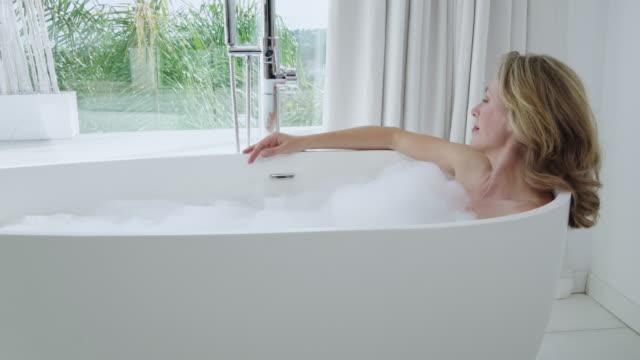 taking bath - bath stock videos & royalty-free footage