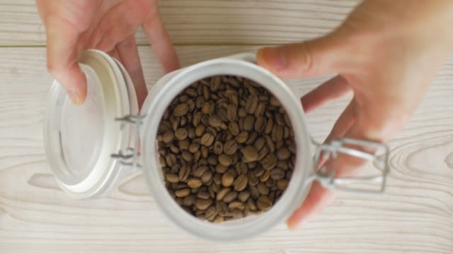 ta kaffe bönor