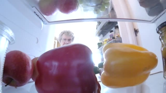 taking food out of the refrigerator - open refrigerator stock videos & royalty-free footage