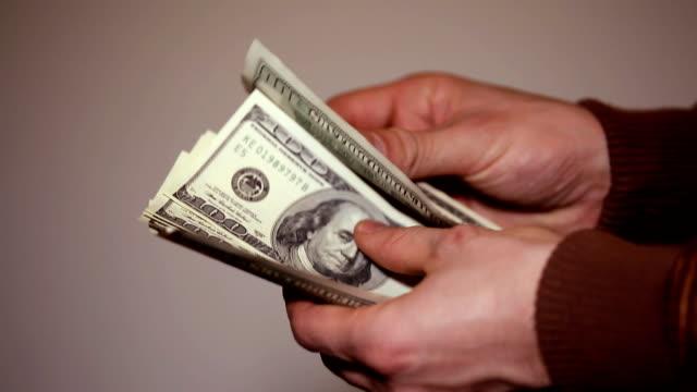Taking money (HD)