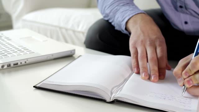 taking notes - handwriting stock videos & royalty-free footage
