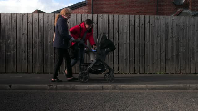 taking the baby out for a stroll - togetherness stock videos & royalty-free footage