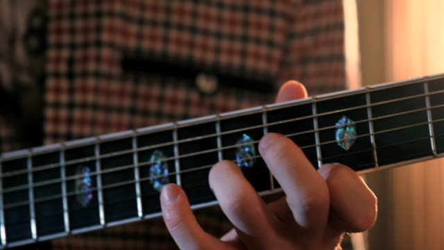 Talentierter Gitarrist